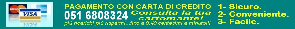Consulto cartomanzia con carta di credito